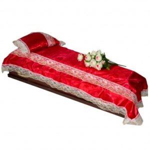 Обивки для гробов, комплекты, покрывала, подушки